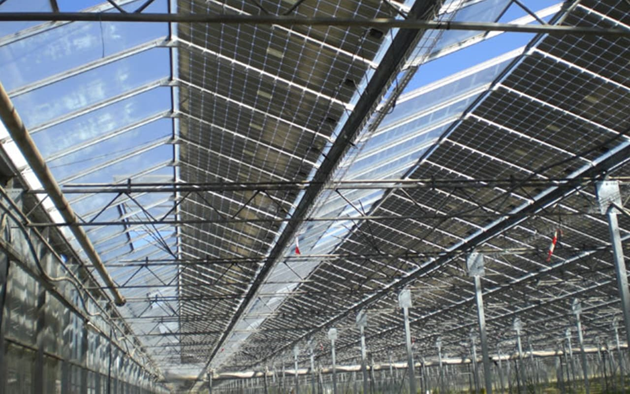 Photovoltaics Produced Green Houses Montelimar
