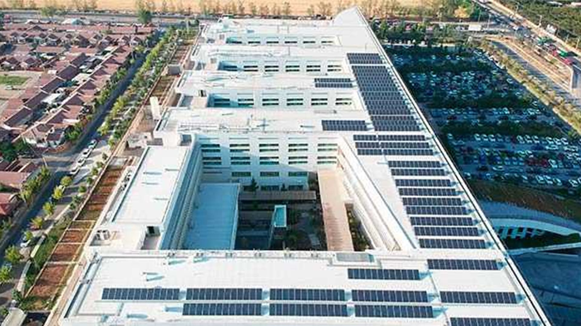 Reference Hospital Rancagua Pv System