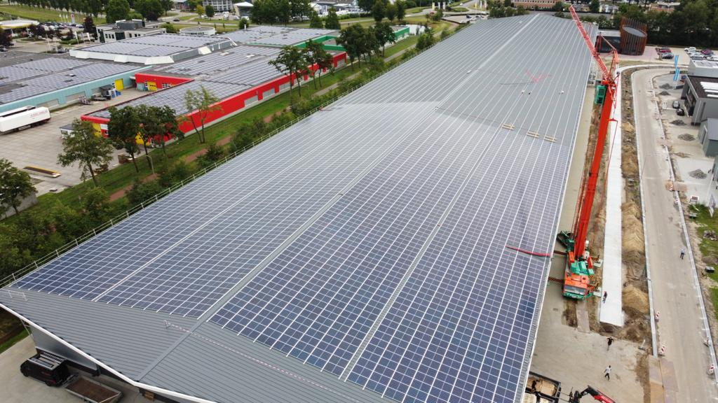 TRITEC supplies PV Mounting System for new Tenax building 2